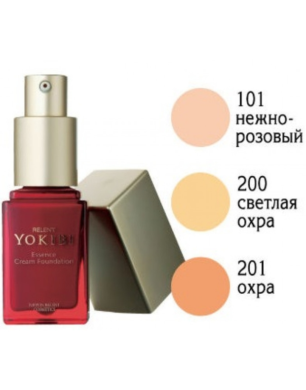 Эссенция крем-пудра Ёкиби Yokibi Essence Cream Foundation